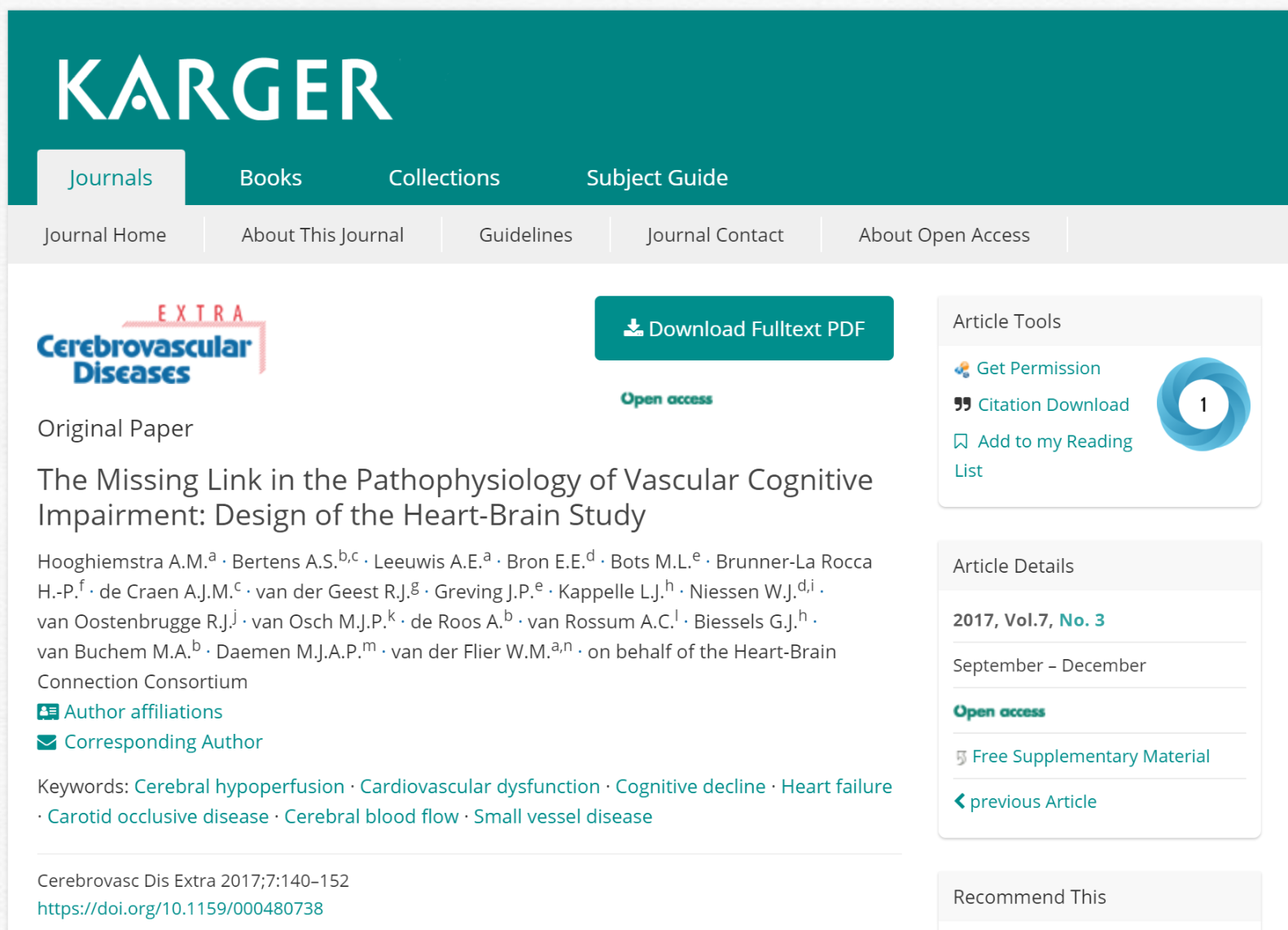 Heart-Brain Connection design paper published