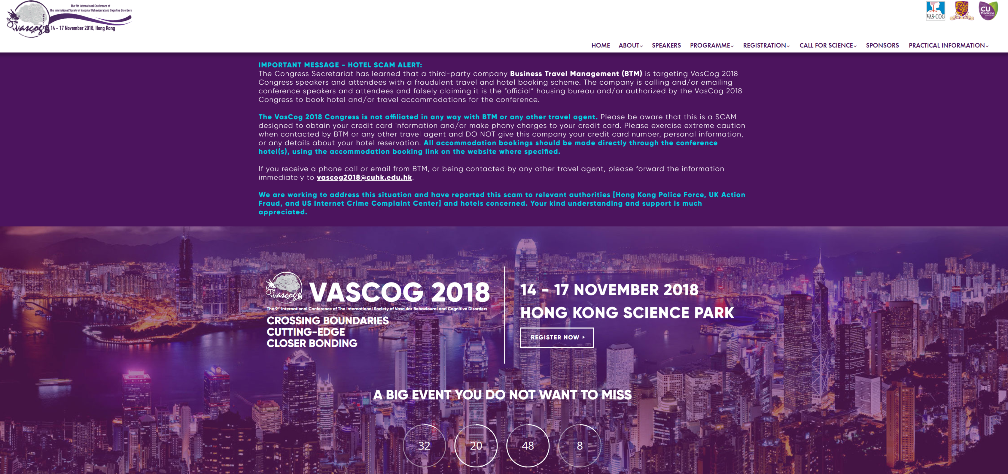 Heart-Brain Connection @ VASCOG 2018